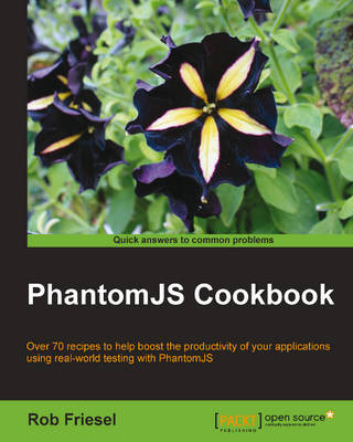 PhantomJS Cookbook (Paperback)