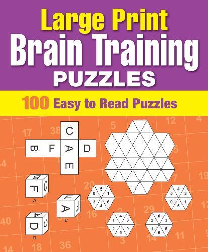 Large Print Brain Training Puzzles - Classic Large Print Puzzles (Paperback)
