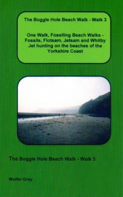 The Boggle Hole Beach Walk: One Walk, Fossiling Beach Walks - Fossils, Flotsam, Jetsam and Whitby Jet Hunting on the Beaches of the Yorkshire Coast - Fossiling Beach Walks No. 3 (Paperback)