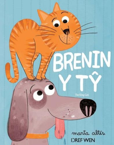Brenin y Ty / The King Cat (Paperback)