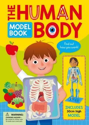 Human Body Model Book (Hardback)