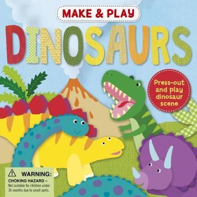 Make & Play Dinosaurs (Paperback)
