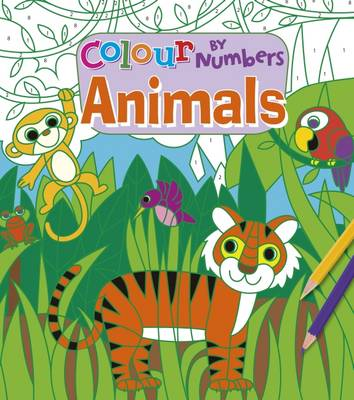Colour by Numbers: Animals (Paperback)
