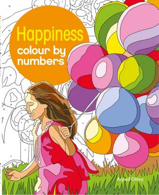 Happiness Colour by Numbers (Paperback)