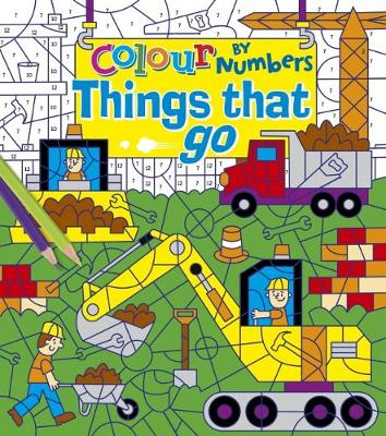 Colour by Numbers: Things That Go (Paperback)