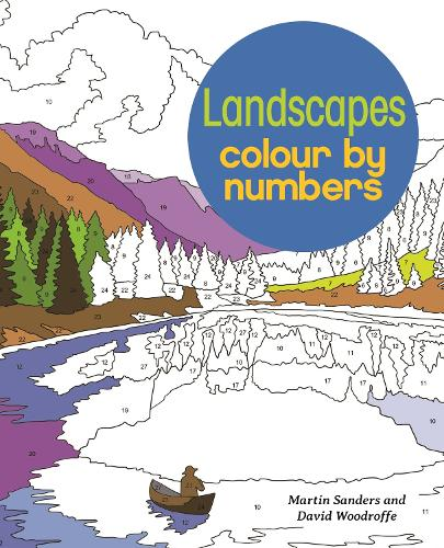 Landscapes Colour by Numbers (Paperback)