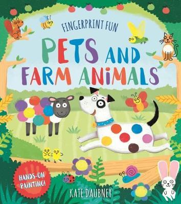 Fingerprint Fun: Pets and Farm Animals (Paperback)