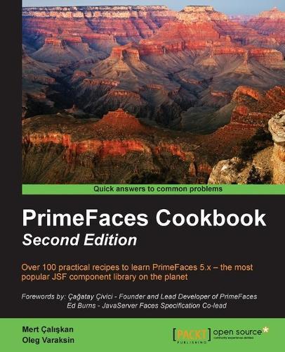 PrimeFaces Cookbook - (Paperback)
