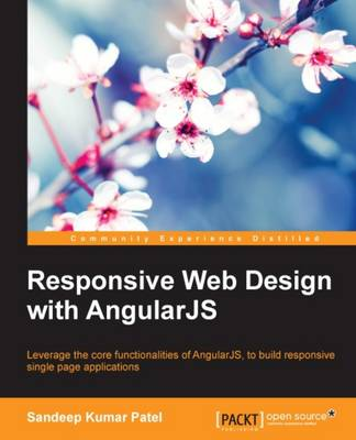 Responsive Web Design with AngularJS (Paperback)