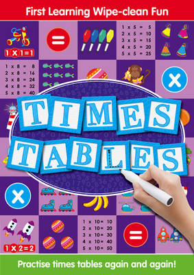 Times Tables - Tiny Tots Easels (Paperback)