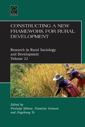 Constructing a new framework for rural development - Research in Rural Sociology and Development 22 (Hardback)