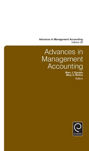 Advances in Management Accounting - Advances in Management Accounting (Hardback)