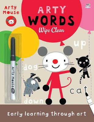 Arty Words - Arty Mouse Wipe Clean (Paperback)