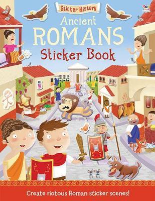 Ancient Romans - Sticker History (Paperback)
