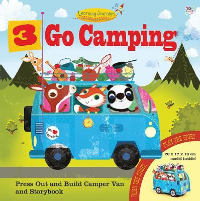 3 Go Camping - Learning Journeys Junior Press Out and Build (Hardback)