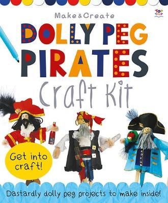 Dolly Peg Pirates Craft kit - Make & Create Craft Kits