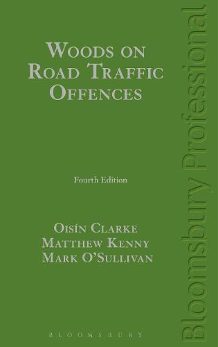Woods on Road Traffic Offences (Hardback)