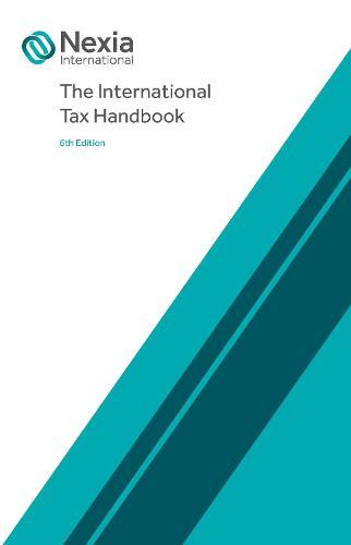 The International Tax Handbook (Paperback)