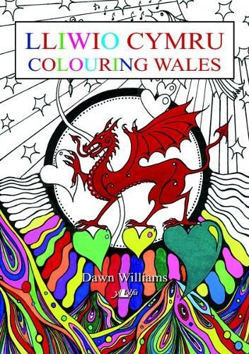 Lliwio Cymru / Colouring Wales (Paperback)