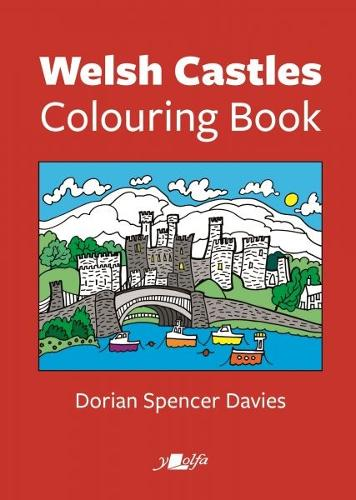 Welsh Castles Colouring Book (Paperback)