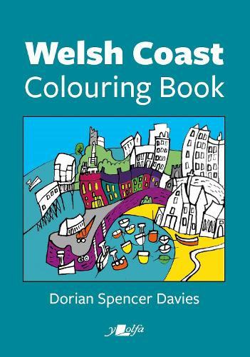 Welsh Coast Colouring Book (Paperback)