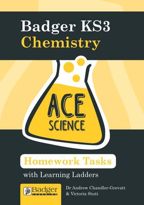 Homework Activities with Learning Ladders: Chemistry Teacher Book + CDs and Site Licence - Ace Science KS3