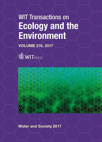 Water and Society IV - WIT Transactions on Ecology and the Environment 216 (Hardback)