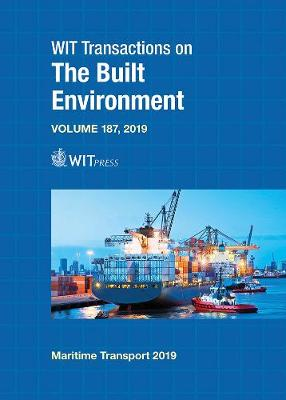 Maritime Transport - WIT Transactions on The Built Environment 187 (Hardback)
