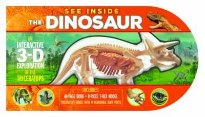 See Inside: Dinosaurs (Hardback)