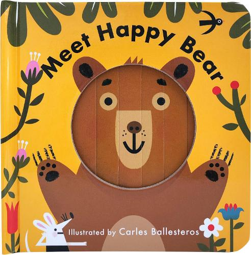 Meet Happy Bear - Little Faces (Board book)