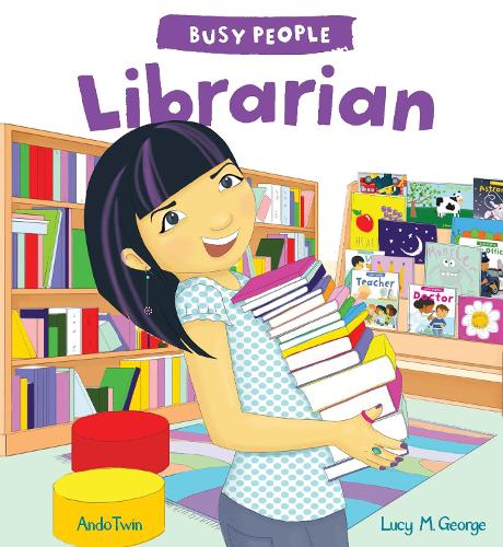 Busy People: Librarian - Busy People (Hardback)