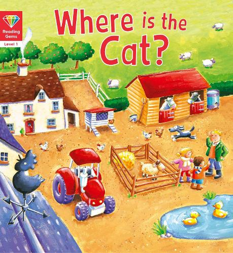 Reading Gems: Where is the Cat? (Level 1) - Reading Gems (Paperback)