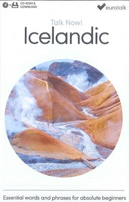 Talk Now! Learn Icelandic (CD-ROM)