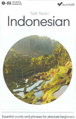 Talk Now! Learn Indonesian 2015 (CD-ROM)
