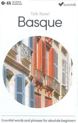 Talk Now! Learn Basque 2015 (CD-ROM)