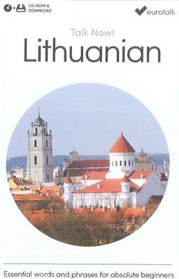 Talk Now! Learn Lithuanian 2015 (CD-ROM)