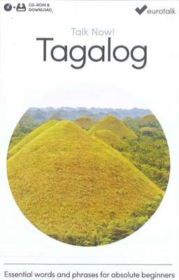 Talk Now! Learn Tagalog 2015 (CD-ROM)
