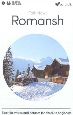 Talk Now! Learn Romansh (2015) (CD-ROM)