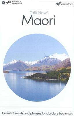 Talk Now! Learn Maori 2015 (CD-ROM)