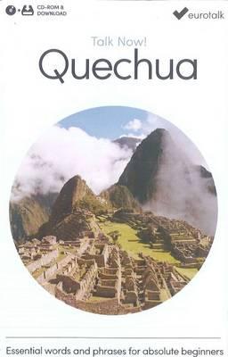 Talk Now! Learn Quechua 2015 (CD-ROM)