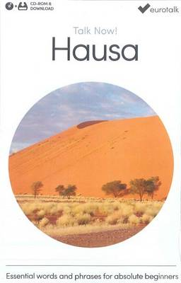 Talk Now! Learn Hausa 2015 (CD-ROM)