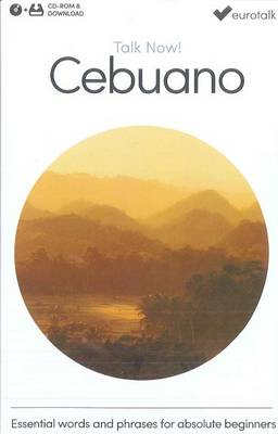Talk Now! Learn Cebuano (2015) (CD-ROM)