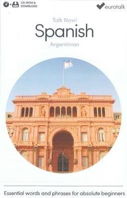 Talk Now! Learn Spanish (Argentinian) (2015) (CD-ROM)