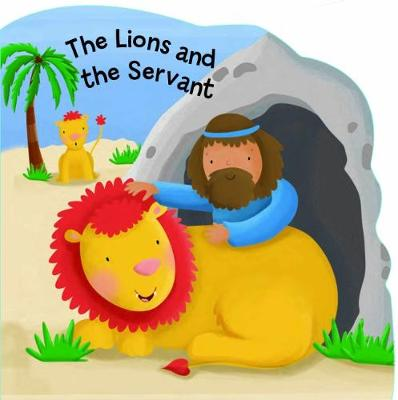 The Lions and the Servant - Bobbly Bible Tales (Board book)