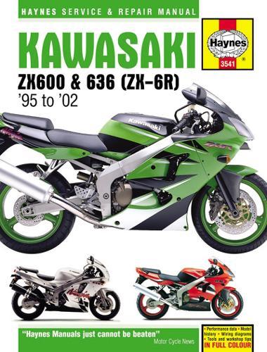 Kawasaki ZX-6R Ninja Service And Repair Manual (Paperback)
