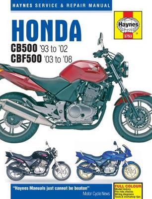 Honda CB500 Service And Repair Manual (Paperback)