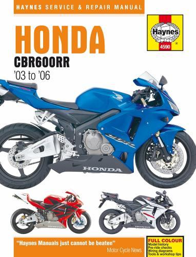 Honda CBR600RR Service And Repair Manual (Paperback)