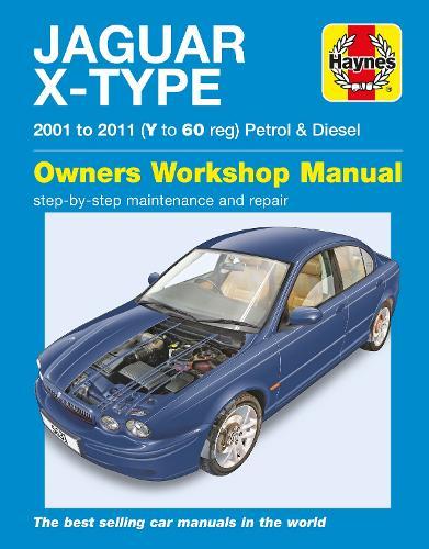 Jaguar X-Type Service And Repair Manual (Paperback)