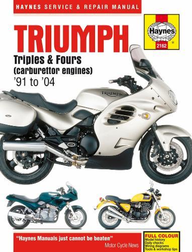 Triumph Triples & Fours: 91-04 (Paperback)