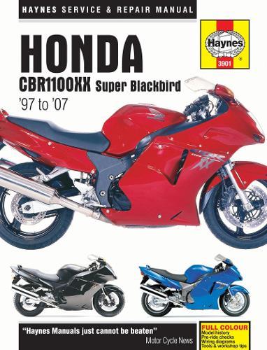 Honda CBR1100Xx Super Blackbird: 97-07 (Paperback)